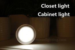 Wholesale Mini LED Warm White Smart Infrared PIR Auto Motion Sensor Night Light Human Body Induction Hallway Passageway Balcony Closet Cabinet light