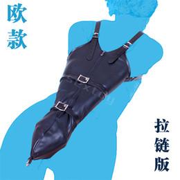 Sexy PU Leather Over Shoulder Arm Binder Bondage Slave Fetish One Armbinder Glove, S&M BDSM Adult Bondage Kit Restraints Sex Toy