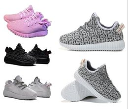 Wholesale kids baby sneakers toddler shoes Boost Boots Shoes Kanye West Boost Running Sports Shoe