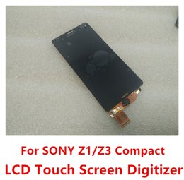 Wholesale High Quality Best Price LCD Touch Screen Digitizer Replacement Parts For SONY Xperia Z1 Z3 Compact z3 mini D5803 D5833