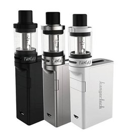 Wholesale Kanger KONE Starter Kit With mah Battery ml Capacity Tank Unique Architecture to Reduce Condensation Dual Airflow Slots Original