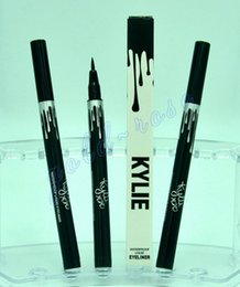 Wholesale HOT NEW KYLIE Pencil waterproof liquid eyeliner black makeup eyes long lasting eyeliner ml oz high quality DHL Gift