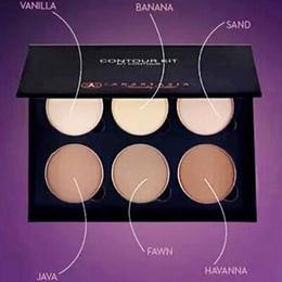 Wholesale Best Quality Makeup Contour Kit Palette Cream Kits Light to Medium Tan Face Powder Foundation Face Outline Toolkits DHL