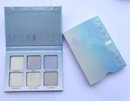 Wholesale HOT Bronzers Highlight Anas Glow Kit MOONCHILD Makeup Face Blush Powder Blusher Palette Cosmetic Blushes DHL GIFT