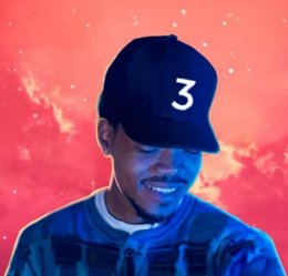 Wholesale Chance the rapper Streetwear Dad hat snapback Baseball Cap coloring Book
