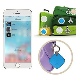 Wholesale Mini GPS tracker Bluetooth Tracker Bag Wallet Key Pet Smart Finder GPS Locator Alarm Build in Google map to search for your lost goods