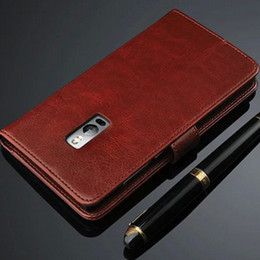 For OnePlus One For One Plus One Luxury Retro Wallet Leather Cover Case With Card Slots Stand Holder magnet Phone Case
