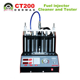 Wholesale CT200 Fuel injector Cleaner and Tester V V With English panel better than CT100 CNC A New Arrival CT200 Fuel injector Cleaner