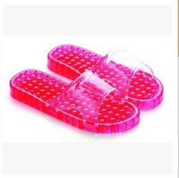 Wholesale Bathroom Slippers Men Flip Flop SPA Beads Massage Shoes Slipper Indoor Slipper Sandals Pierced Acupressure Washing Shower Slipper