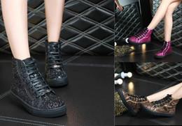 Longue en cuir femmes boot à vendre-Femmes en cuir véritable à long Bottes 2016 Automne Hiver Mesdames Mode chaud Mme bottes courtes plates travail Bottes de neige mode Chaussures de marque chaussures plates