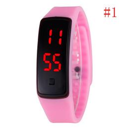 LED Watch 2016 Fashion Sport Digital Watch Silicone Bracelet Watch For Women Men Kids Wristwatch Free Shipping
