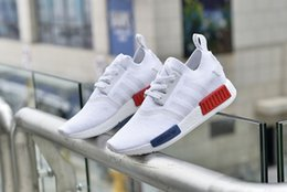 Wholesale 2016 new adidas NMD Runner Primeknit Sports Outdoor boost Cheap NMD ultra boost mens Athletic snea mens Athletic Running sneaker Shoe