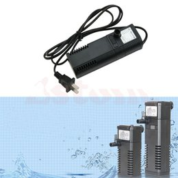 Wholesale New Hot Sale Aqua l H Aquarium Fish Tank Mini Internal Filter Power Pump Spraybar