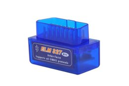 Wholesale Hot obd2 Bluetooth Automotive Scan Tool Bluetooth Function ELM Diagnostic Tool Read Diagnostic Trouble Codes