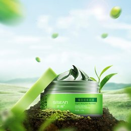 Wholesale best Mung bean dead sea mud mask with private label moisturizing nourishing whitening mask