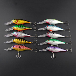 Hot-selling,10 colors Fishing bait 10CM 13G Proberos style laser Minnow fishing lures,40pcs lot fishing tackle free shipping