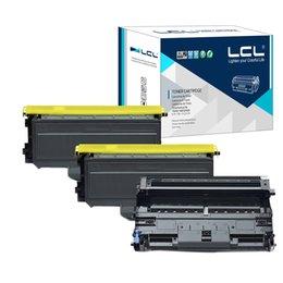 LCL TN2120 TN2110 TN 2120 2110 DR2100 (3-pack)Toner Cartridge Compatible for Brother HL-2140 HL-2150 HL-2150N HL-2170 HL-2170W MFC-7320 MFC-