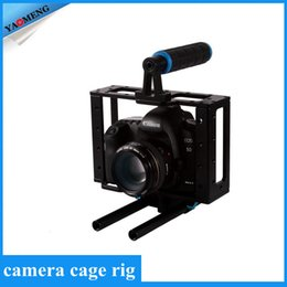Wholesale Aluminum DSLR Camera Cage Kit With mm Rod Rig For D Mark II D D