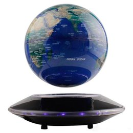 Canada Creative Electronic Book Levitation magnétique Globe flottant Haute qualité Maglev World Map Festival Birthday Business Education Gift Offre
