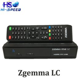 Wholesale WorldWide FTA Zgemma Star LC HD digital cable Receiver Linux OS E2 Updated DVB C One Tuner With Full Channel Softwares Linux tv set top box