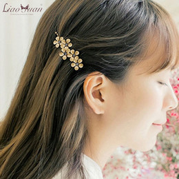 New Arrival Beaded Wedding Hair Accessories Flower Wedding Church Pearls Hair Accessories With Brooch Pin Hair Clip White Bridal Flowers