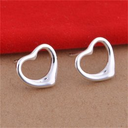 Wholesale HOT! Christmas gift For Women Jewelry 925 Sterling Silver Earrings Fashion Stud Earrings 10PAIR LOT