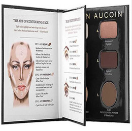 Wholesale DHL SHIPPING HOT Makeup Kevyn Aucoin Contour Book High light Shadow plate The Art of Sculpting Defining woman face bronzers