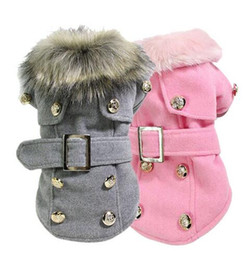 Wholesale New Fashion Dog Winter Warm Coat Luxury Jacket Puppy Clothes Pet Clothing Cat Apparel dog winter coat hight quality free shippi