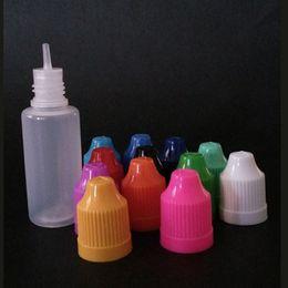 2016 New empty bottle 15ml pe child proof dropper 15ml e juice bottle factory wholesale free shipping