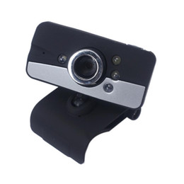 Wholesale-HD Webcam Web Cam Camera USB 2.0 LED With Mic For Laptop Desktop Computer