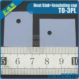 100Pair lot Insulation Bushing Silicon Rubber Pad For TO-3PL Package Heat Sink + Insulating cap