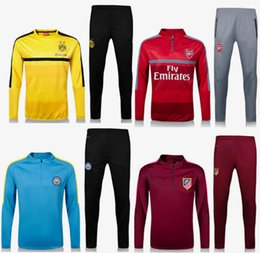 Wholesale Top quality Dott Arsenal jersey Manchester City Football Horses Hing horse training clothes sweatshirt