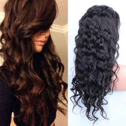 Full Lace Wigs For African American Human Hair Wigs Best Glueless Brazilian Body Wave Lace Front Wigs