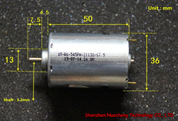 Brand new large torque low nosie 545 DC motor RK-545PH 24V 5200RPM 36*50mm permanent magnet motor ~