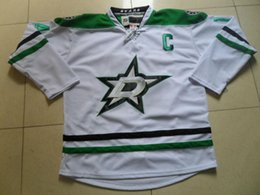 Wholesale 2014 New Arrival Dallas Stars Jamie Benn Jerseys Men s Hockey Jersey Stitched Lettering Name Best Quality