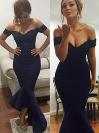 2016 new word shoulder Cocktail Dress floor length mermaid-cut Cocktail canonicals sexy asymmetrical formal Cocktail Dresses plus size