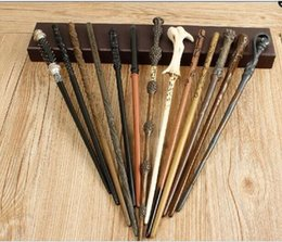 Wholesale Free Shipping Event & Party Supplies Souvenirs with iron core 22 type Deluxe Hogwarts Magic Magical Wand Wizard (Advanced Edition)