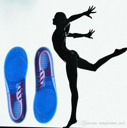 Wholesale Silicone Gel Insoles Arch Support Orthopedic Plantar Running Insole Gel Insoles shoe inserts cushion Pad Man Woman Sports insole KKA606