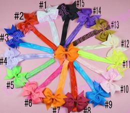 Free shipping 50pcs Baby Headbands and Bows Baby Headband Bow Headbands Girl Headbands Newborn Headband Baby Hair bows Toddler Hair Bow