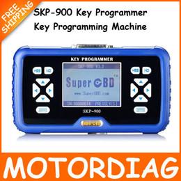 Wholesale Key Programming Machines - Wholesale-SKP900 OBD2 Key Programmer v3.5 SKP 900 Programador Chave SKP-900 Car Keys Programming Machine Auto Programer