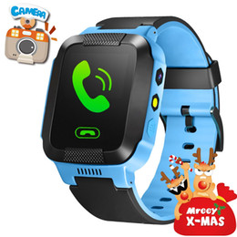 GPS Tracker Kids Smart Watch for Children Girls Boys Christmas Gifts with Camera SIM Calls Anti-lost SOS Smartwatch Bracelet for iPhone Andr
