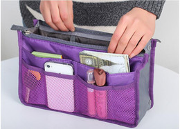 Protable Travel bags in bag Multi-function Makeup Cosmetic Case Organizer bag Storage Tolietry Bathing bag in big bag With ZipperNAR043
