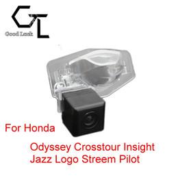 For Honda Odyssey Crosstour Insight Jazz Logo Streem Pilot Wireless Car Auto Reverse Backup CCD HD Rear View Camera Parking Assistance