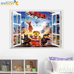 Wholesale 100pcs ZY1422 ninja game wall stickers ZooYoo1422 d boy game decal home interior decors hot sellings self adhesive wallpapers art