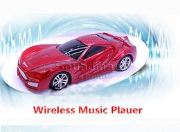 Wholesale Mini Wireless Bluetooth Audi A7 Car Shape Speakers Bass Desktop Support FM Radio TF Card USB With Retail Package