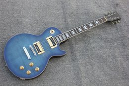 Free Shipping Brand New High Quality Electric Guitar In Blue Color