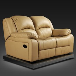 Wholesale Mordern seater leather recliner recliner for two love seat recliner good quality recliner home theater seating