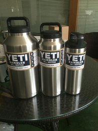 Wholesale 18oz oz oz Yeti Bottles Bilayer Stainless Steel Insulation Cup YETI Cups Cars Beer Mug with logo