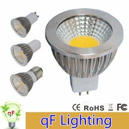 Wholesale Spot 12v Led 6w Mr16 - ce ul saa Dimmable E27 E14 GU10 MR16 Led Bulbs Lights cob 6W 9W 12W Led Spot Bulbs Lamp AC 110-240V 12V