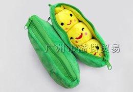 Wholesale Super Kawaii CM Green Pea Beans DOLL Plush Stuffed Keychain TOY BAG Pendant TOY BAG Wedding Bouquet TOY Gift DOLL